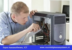 Kassasysteem voor de computerwinkel