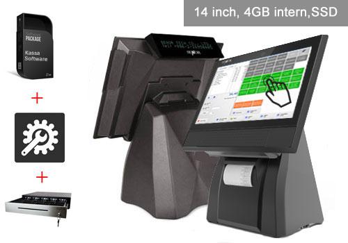 kassalade, touchscreen kassasysteem