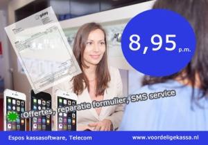 kassa software voor de telefoonwinkel, telefoonwinkel kassasysteem