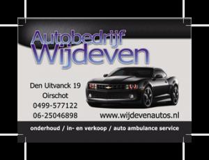 Autobedrijf Wijdeven