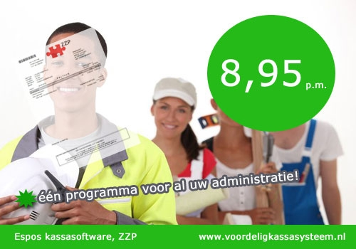 kassa software zzp, factuur software zzp