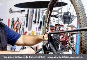 kassasysteem voor de fietsenwinkel