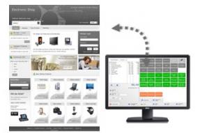 webshop koppeling kassa wordpress