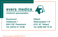 Evers Medica Zorgwinkels BV