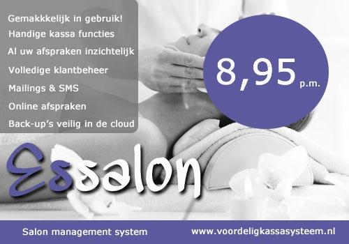 salonsysteem schoonheidssalon, schoonheidssalon programma, schoonheidssalon software