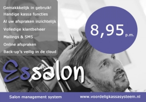 kapsalon kassasysteem, salon software kassasysteem
