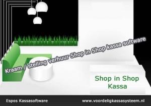 Kassasysteem shop in shop