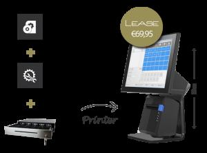 kassasysteem leasen, kassa leas, kassasystemen, i3 kassasysteem, touchscreen kassasysteem